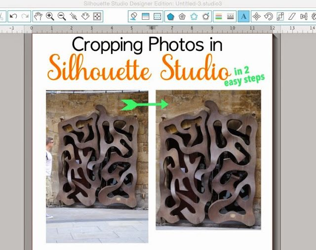 How to Crop Photos in Silhouette Studio (in 2 easy steps)