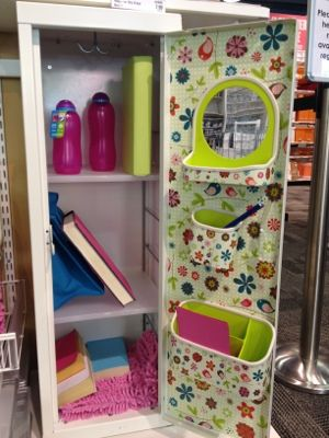 back to school locker ideas, im not to hot on the theme but i am in love with these shelfs