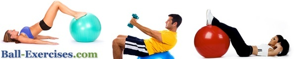 Excersise ball workouts which are great because the children are active participants.