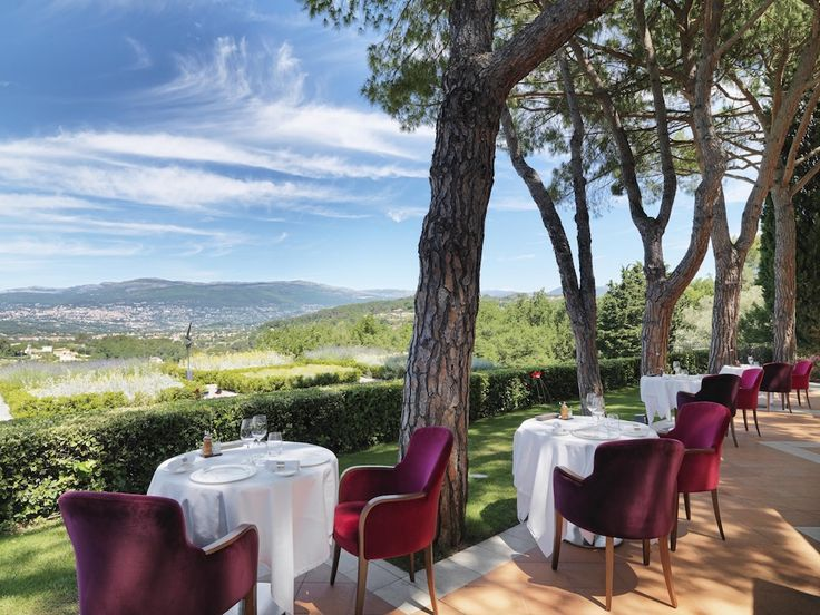 Restaurant Le Candille in Mougins, France