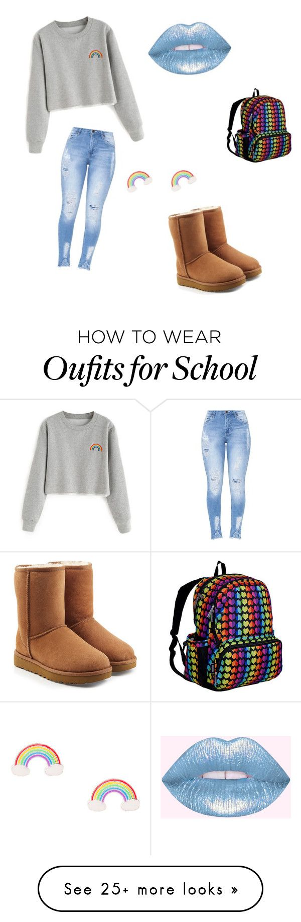 """""""Untitled #9"""" by katelynisthebest on Polyvore featuring UGG and Wildkin"""