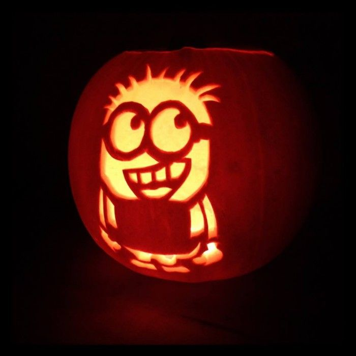 Who is ready for Halloween and has their Minion pumpkins carved