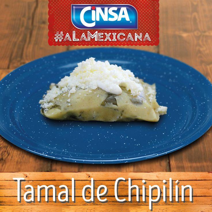 #Cinsa #CinsaALaMexicana #Recetas #Mexicanas #RecetasMexicanas #México #Comida #ComidaMexicana #peltre #MarcasMexicanas #TamalDeChipilin #Chiapas
