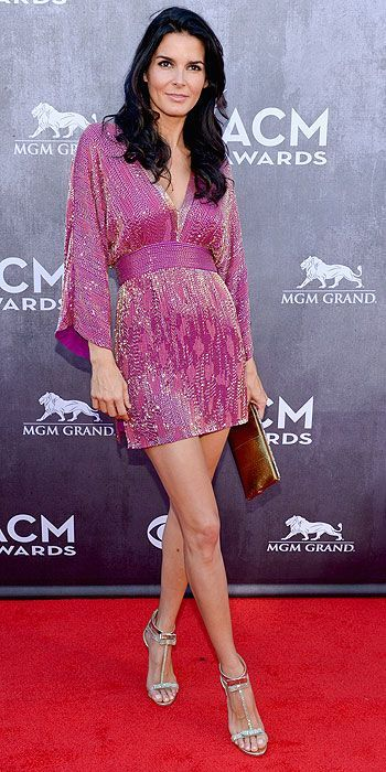 ACM Awards 2014 : Angie Harmon