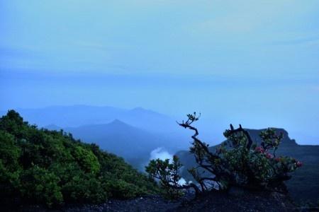 Haekal Siregar: Sunrise di Puncak Gunung Gede, Bogor