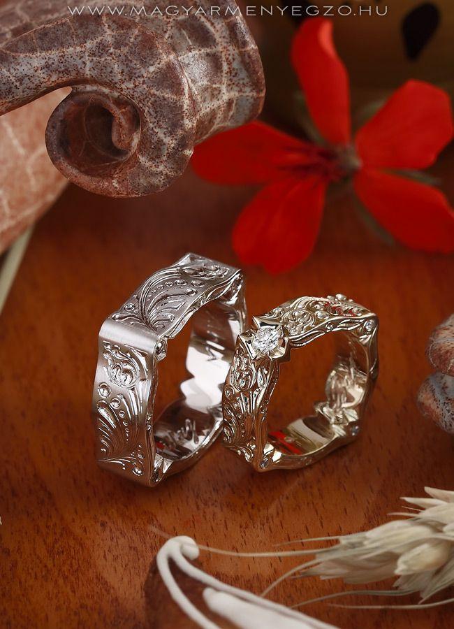 Árgyélus No.3 - karikagyűrű - wedding ring www.magyarmenyegzo.hu