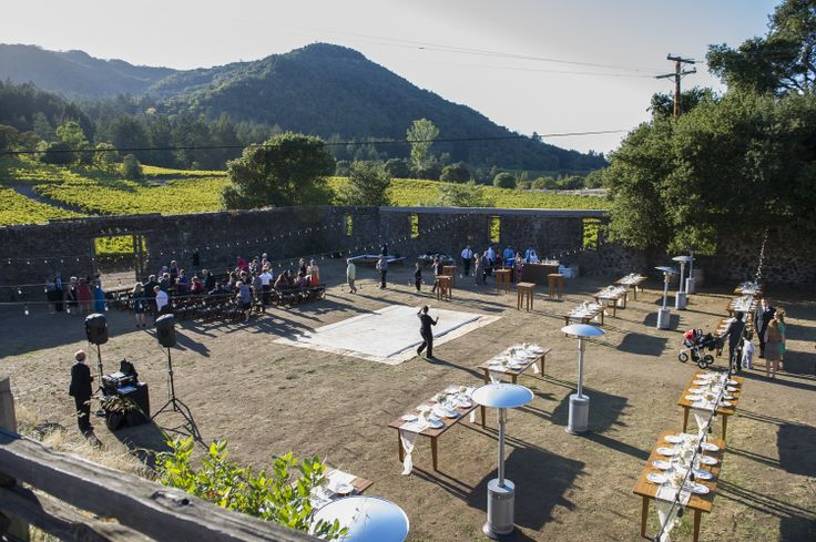 Winery Ruins set for ceremony and reception