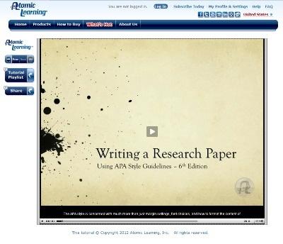APA Style Introduction // Purdue Writing Lab
