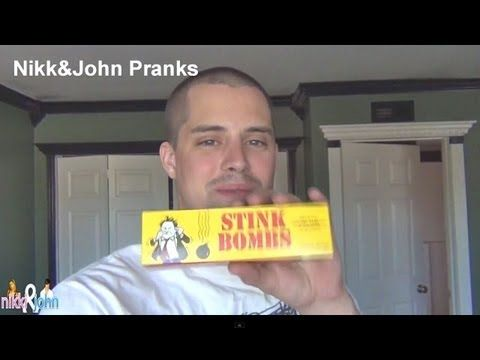 Stink Bomb Perfume Prank