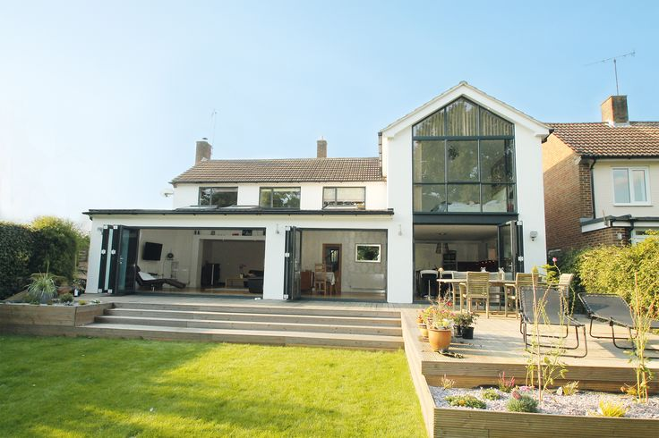 Jane and Oliver Smith added a two-storey rear extension to increase space and light in their home