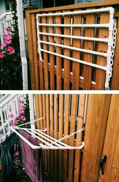 pvc pipe drying rack                                                                                                                                                      Mais