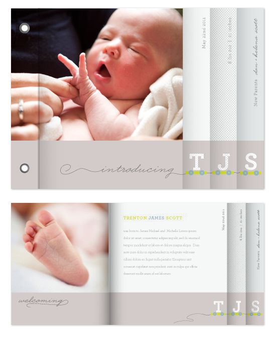 100 Best Birth Announcement Ideas Images On Pinterest
