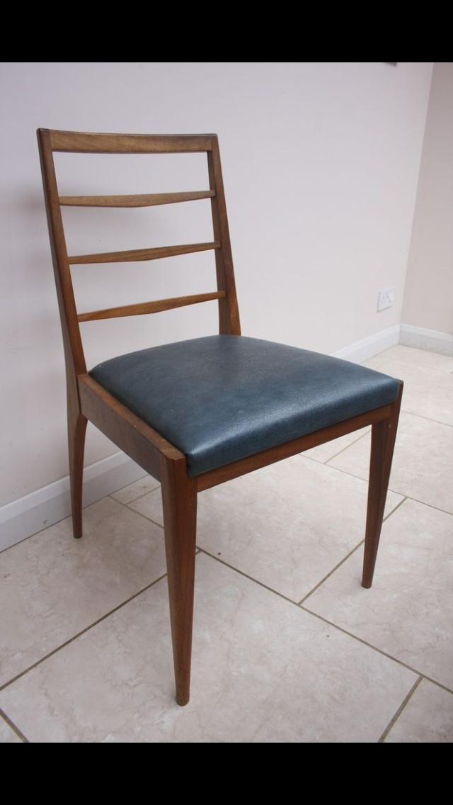 McIntosh 1960's dining Chairs. Mid Century Modern. Style. Refurb. Mass production. Teak. Scottish. UK
