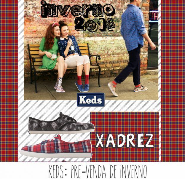 A nossa coleção de Keds já está disponível na pré-venda :} Garanta já o seu!