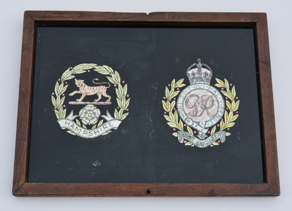 The Hampshire Regiment The Royal Engineers WWII by BiminiCricket