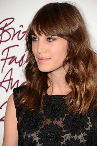 O cabelo preferido das famosas em 2012 em 2012 | Alexa Chung | foto: Getty