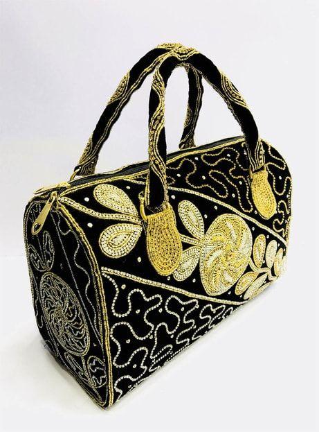 Black Fancy Hand Bag For Ladies  ab252b336a8b6
