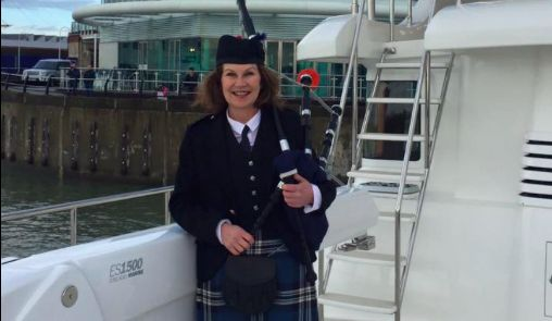 Poole piper travelling to all 7 continents in 50 days #bagpipes #Poole #pipes #music #travel #world #Dorset