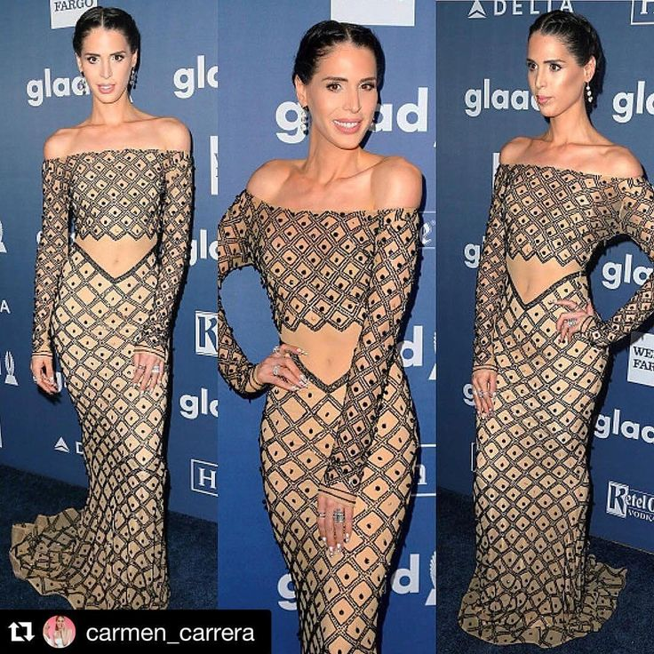 #Repost @carmen_carrera with @repostapp. ・・・ Last night was mad real  Wearing @charbelzoecouture  Thank you so much @sammymoussallam and @hermz__la for such a magical night ✨✨✨ @glaad #glaadmediaawards #glaadawards #glaad #charbelzoe #charbelzoecouture