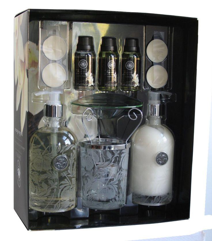 Essenza Aroma Oil Burner Set Hand Soap Lotion Vanilla Collection   eBay