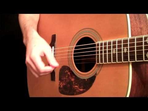 Percussive Acoustic Guitar Rhythms - Beginner Guitar Lesson - YouTube