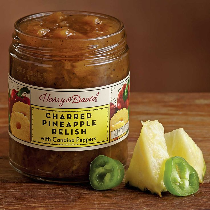 Charred Pineapple Relish | Gourmet Food Online | Harry & David