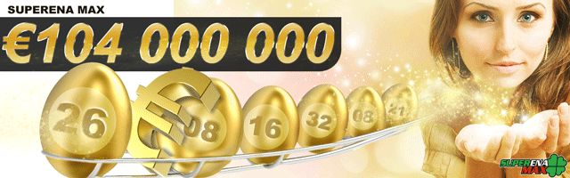 Whether you easter bunny, bring a basket full of eggs lotto. Wonderful start of the Easter promises to today's win € 104 million in SuperEna Max. Very rich egg hunt then you can earn through six correct numbers in the USA Powerball, played a fantastic $ 128 million, a coup takes place this Saturday.  Play them at http://www.moje-obchody.cz/en/online-betting/