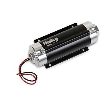 Holley 12-600 Fuel Pump, Grey chrome