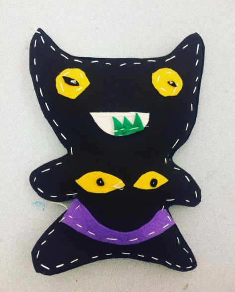 Made an ugly doll for my art education class and I'm actually really fond with the way it turned out! http://ift.tt/2op62Mi . how to make your own #crafts follow @cutephonecases