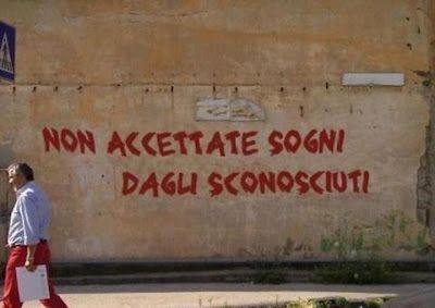 (LPDD): scritte sui muri