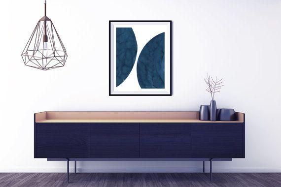 Minimalistische poster. Grote poster. Minimalistische schilderkunst wordt afgedrukt. Groot abstract afdrukken. Abstracte poster. Home decor kunst aan de muur