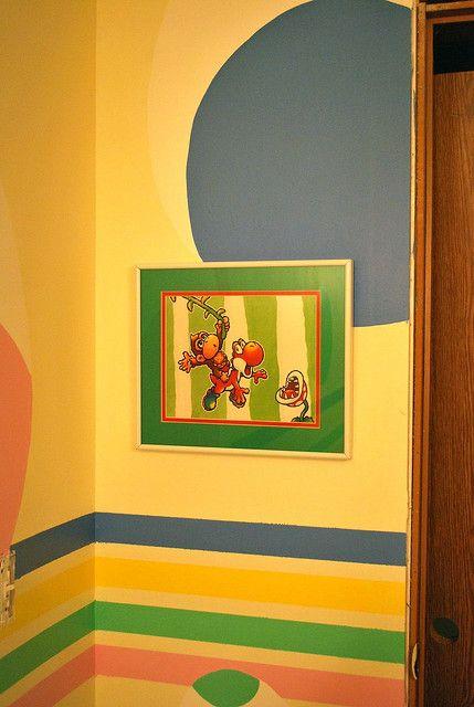 58 best Mario Brothers Nursery! images on Pinterest | Child room ...