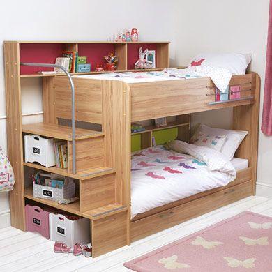 Best 25 Bunk Bed Shelf Ideas On Pinterest Bunk Bed