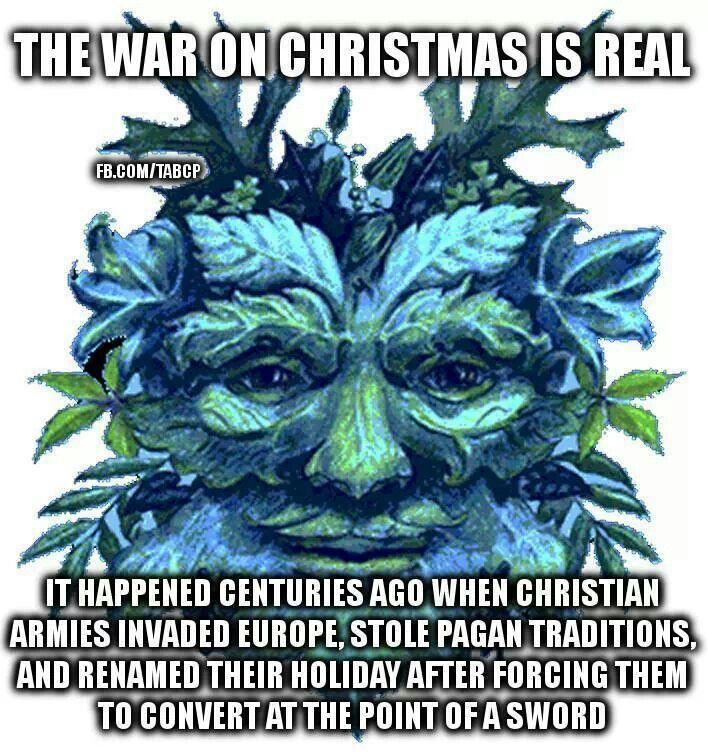 Christmas Is A Pagan Holiday.That Time Of Year Aleph S Heretical Domain