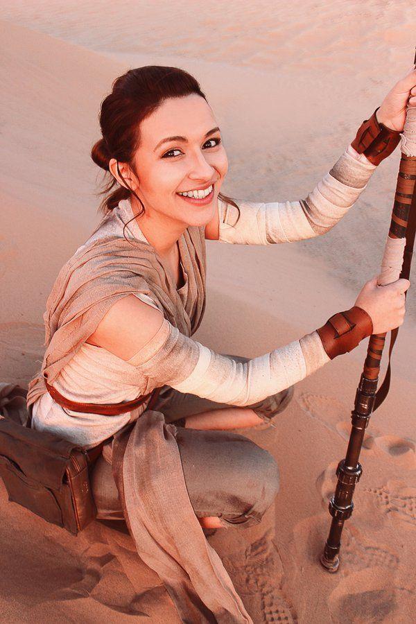 Rey Cosplay - Star Wars by Aicosu on DeviantArt