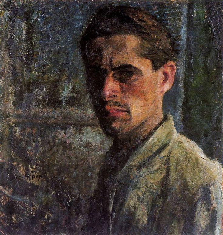 Self-Portrait, 1910  Mario Sironi