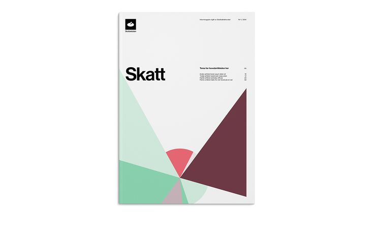 Visual identity for Skatteetaten, The Norwegian Tax Administration
