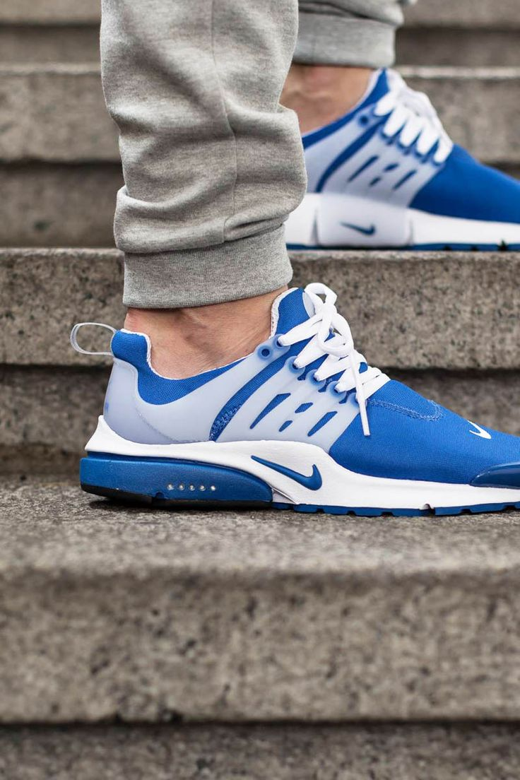 womens nike air presto blue yellow