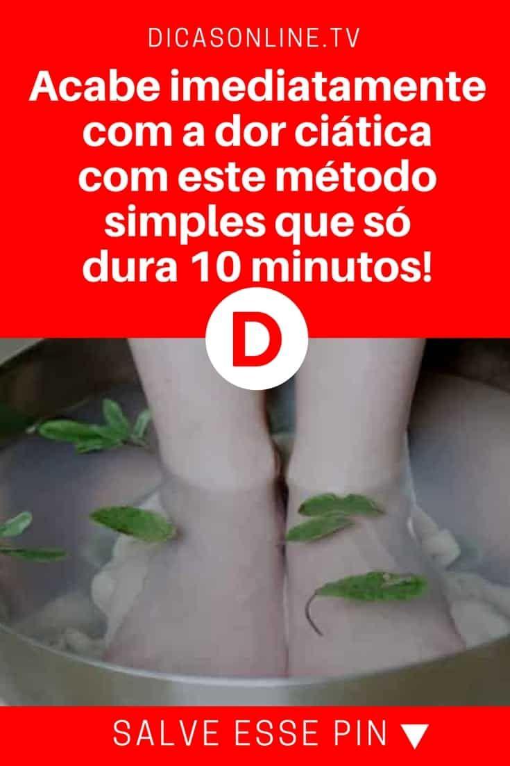 Dor ciática | Acabe imediatamente com a dor ciática com este método simples que só dura 10 minutos! | Tratamento sensacional. O alívio é imediato. Aprenda
