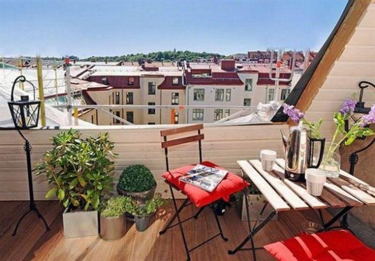 Amazing Decorating Ideas for Small Balcony