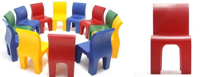 Bronto Chair – La chaise pour enfant by Richard Hutten