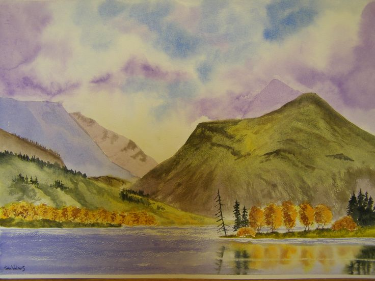 Water colour by Colin Walters 594mm x 420mm