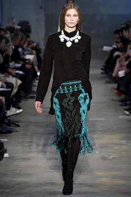 Outstanding Crochet: MacrameDesign Inspiration, Fashion Weeks, Proenza Schouler, Schouler Fall, Necklaces Inspiration, Fashionrunwaycollect 2010, 2011 Readytowear, Fall Rtw, Fall 2011