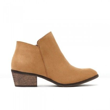 BILLINI Harriet Ankle Boot Tan Suede