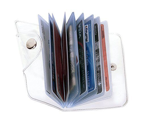 SEPAL Plastic Transparent Card Holder Heavy duty PVC Plastic Material 10 Clear Pockets Credit/ ATM/ Credit/ Visiting Money Transparent Coin Purse Wallet (5pack) | Card Cases Pocket Accessories Bags Wallets and Luggage | Best news and deals!