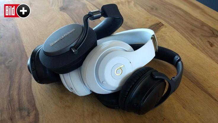 Bose, Beats, B&W - Diese Kopfhörer sorgen für Ruhe
