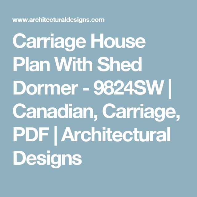Lowcountry Carriage House: 1000+ Ideas About Carriage House Plans On Pinterest