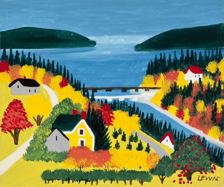 Ben Loman by the Sea (1962) - Maud Lewis