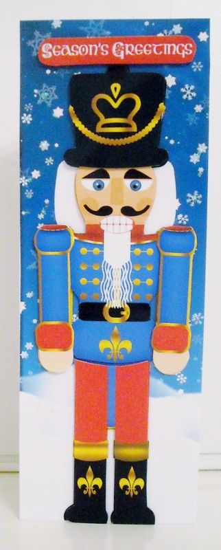 Nutcracker Soldier Christmas Step by Step Large Dl - CUP584764_1446 | Craftsuprint