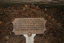 Catacomben van Parijs - Wikipedia
